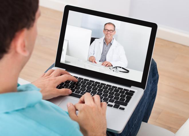 Beeldbellen met uw dokter