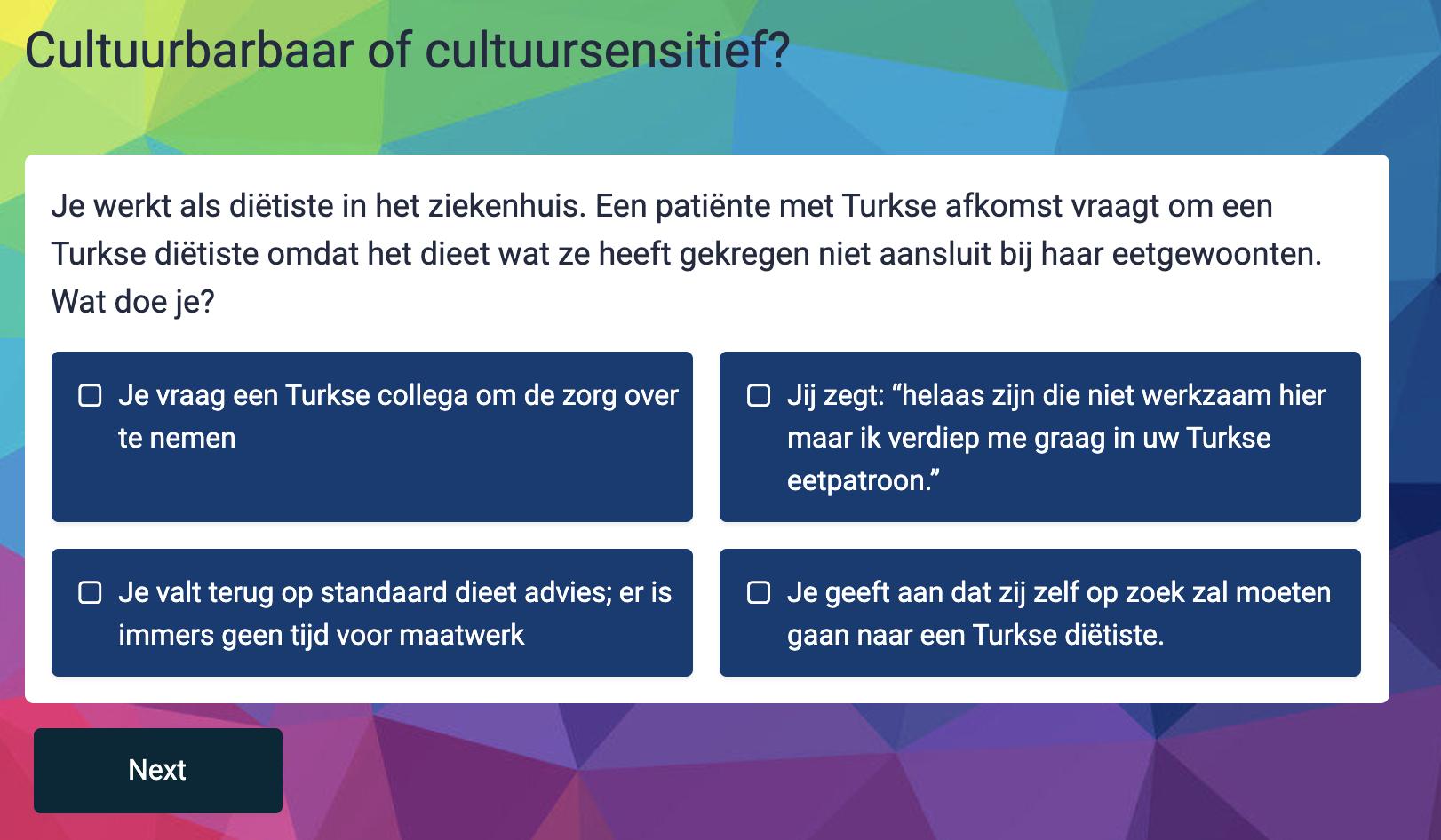 Doe de quiz: Cultuursensitief werken in de Rotterdamse zorg